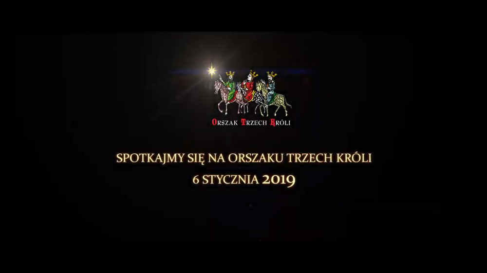 Orszak Trzech Króli Warszawa 2019